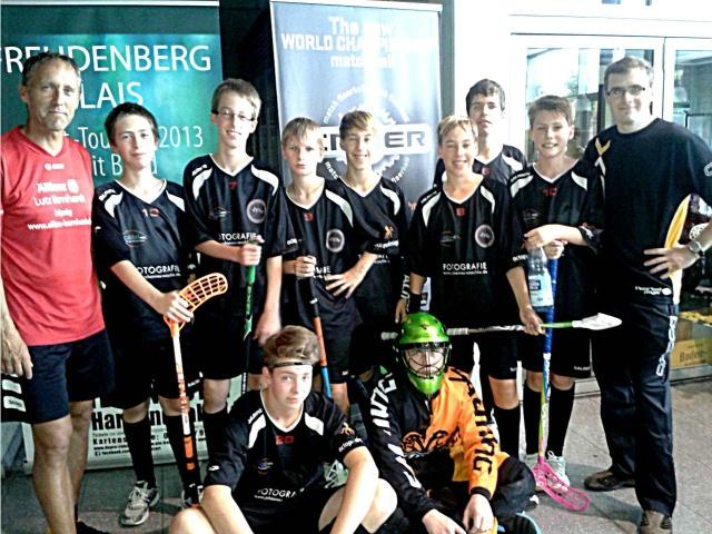 MFBC U15 Devils Cup mit Trainern